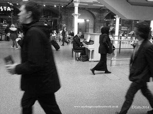 St. Pancras Piano Man