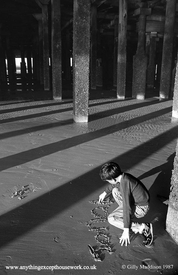Jonathan-Writing-In-Sand