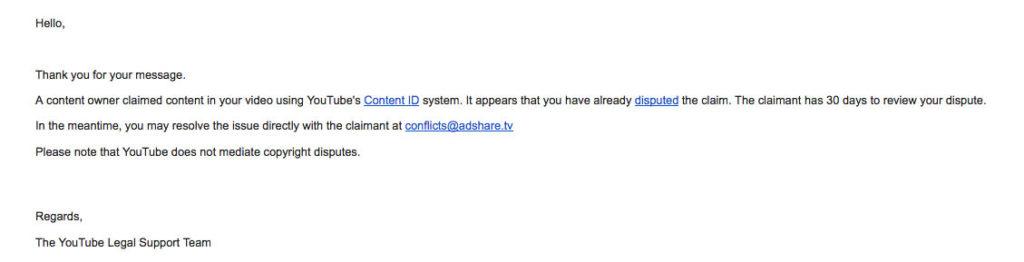 copyright infringement claims