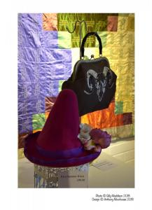 Anthony Moorhouse Designer Hat Bag Quilt